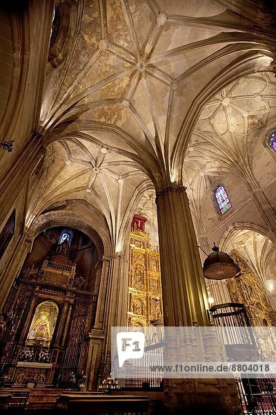 Inside of the Priory Church of St Mary. Carmona  Seville  Andalusia  Spain  Europe.