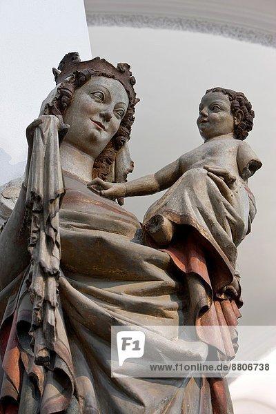 Kiliansdom  Epiphany Group  Madonna and Child  Würzburg