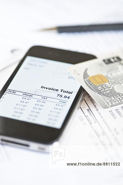 Smartphone im Einsatz für Online-Banking