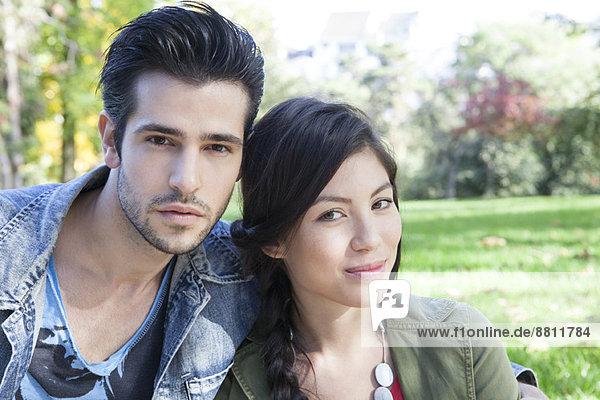 Junges Paar  Portrait