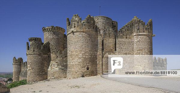 Castillo de Belmonte  Belmonte  Provinz Cuenca  Kastilien-La Mancha  Spanien