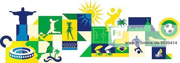 Attraktivität  Weg  Brasilien  Sport