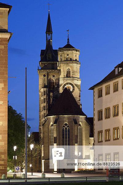 Collegiate Church  Stuttgart  Baden-Württemberg  Germany