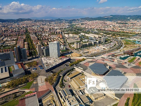 Forum zone. Barcelona  Spain.