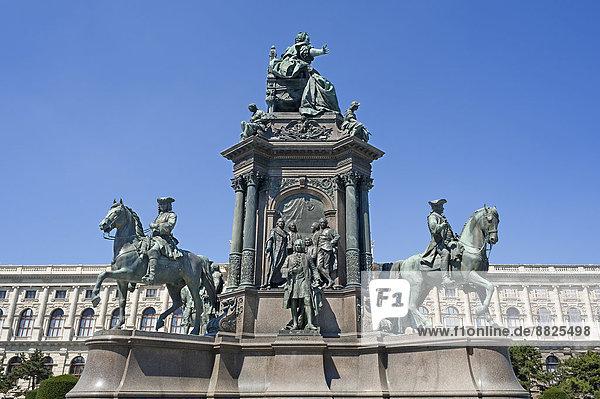 Denkmal der Maria Theresia  von Caspar Zumbusch  1888  Wien  Land Wien  Österreich