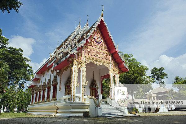 Wat Samret Tempel  Ko Samui  Surat Thani  Thailand