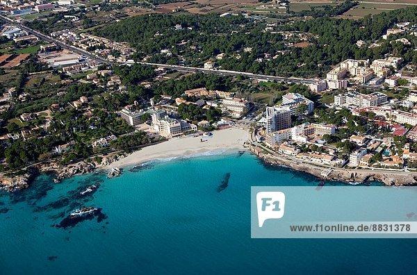 Osten  Ansicht  Kosten  Mallorca  Luftbild  Fernsehantenne  Spanien