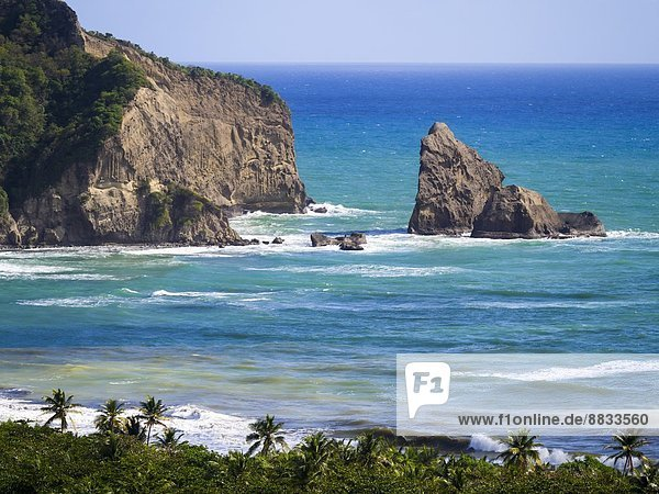 Karibik  Antillen  St. Lucia  Fond d'Or Bay bei Dennery
