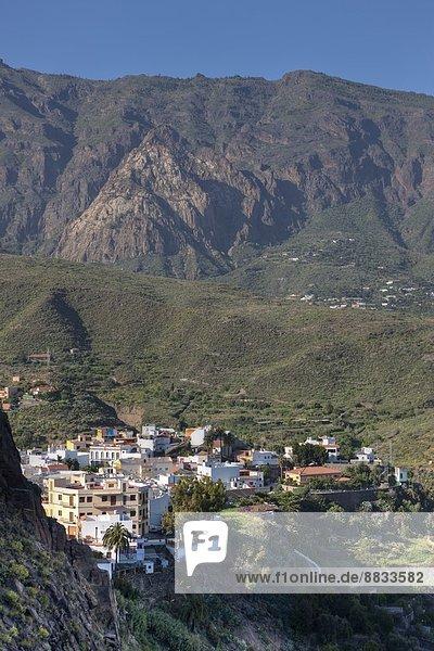 Spanien  Kanarische Inseln  Gran Canaria  Bergdorf Los Cercados
