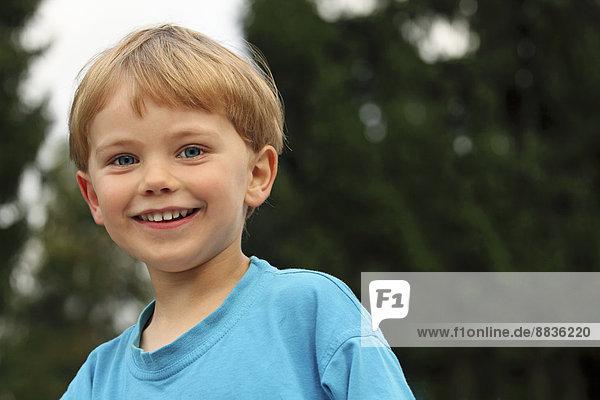 Portrait of smiling little boy