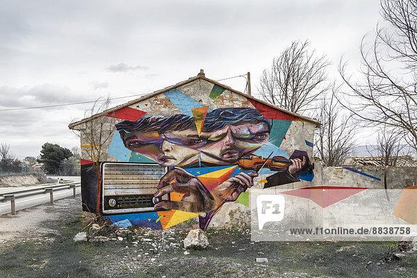 Graffiti Spanien