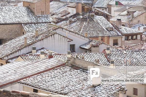 Dach Ignoranz Aragonien Spanien