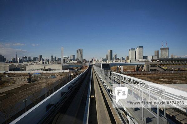 View of Tokyo  Japan