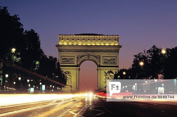 France  Paris  Arc De Triomphe