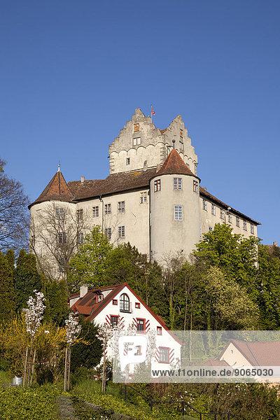 Palast Schloß Schlösser Baden-Württemberg Deutschland Meersburg