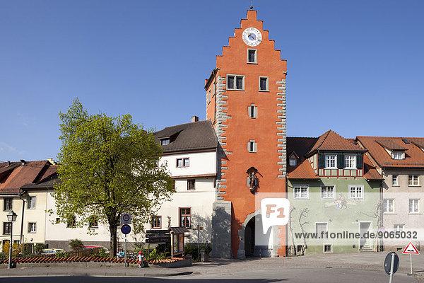 Obertor  Meersburg  Baden-Württemberg  Deutschland