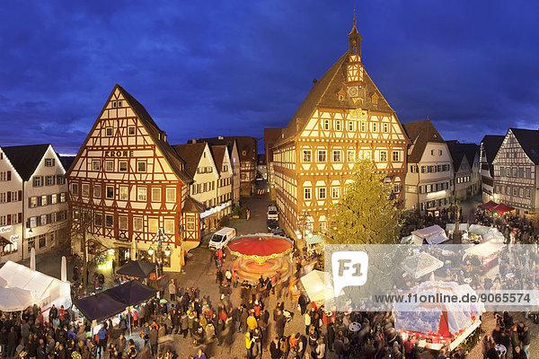 Quadrat Quadrate quadratisch quadratisches quadratischer Weihnachten Baden-Württemberg Deutschland Markt