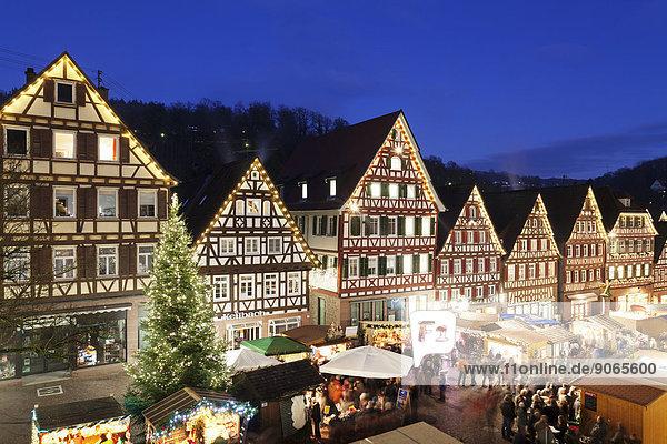 Baden-Württemberg Schwarzwald Deutschland Weihnachtsmarkt
