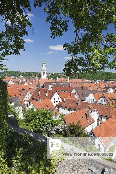 Geschichte Kirche Ansicht Baden-Württemberg Deutschland