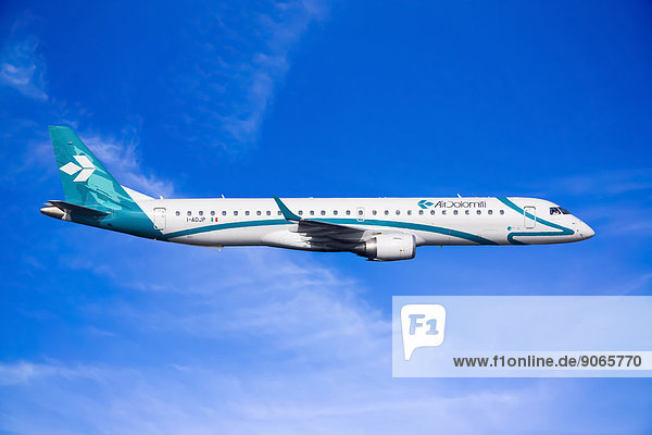 Air Dolomiti Embraer ERJ-195LR in flight
