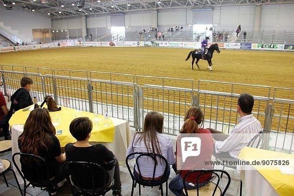 Rome  Italy. 25th April 2014. Cavalli a Roma equestrian event at the Fiera di Roma complex in Rome Italy