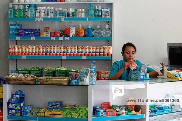 Drugstore in Phnom Penh  Cambodia
