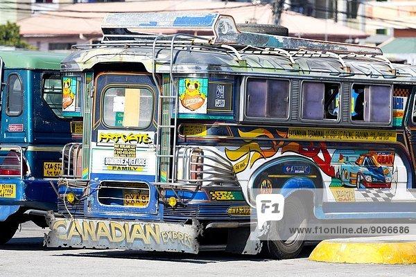 Jeepney  Angeles City  Luzon  Philippinen  Asien