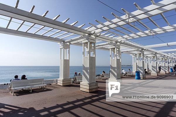 Frankreich Freundlichkeit Promenade des Anglais