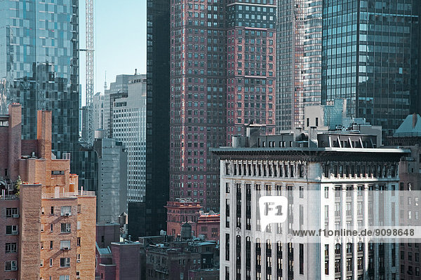 Hochhäuser  New York City  New York  USA