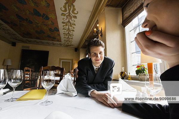 Liebe  halten  Restaurant  Tisch  Business