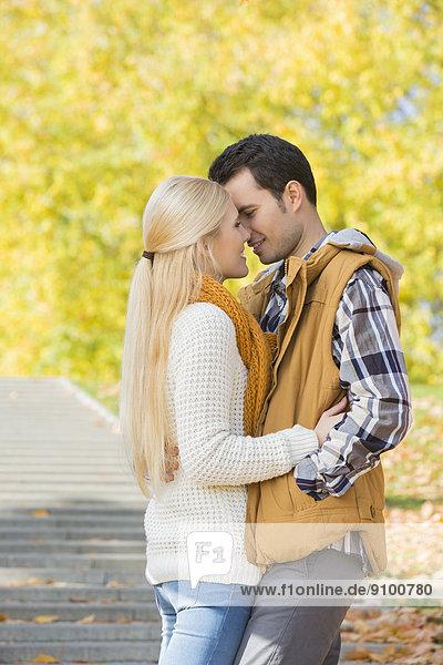 küssen  Herbst