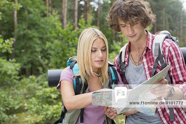 Zusammenhalt  Wald  Landkarte  Karte  wandern  jung  vorlesen