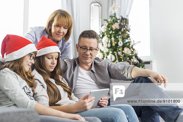 Interior zu Hause benutzen 4 Weihnachten Tablet PC
