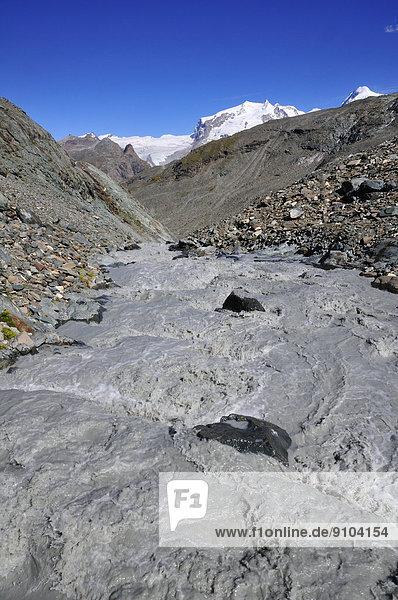 Berg Matterhorn Vorgebirge Schweiz Zermatt Kanton Wallis