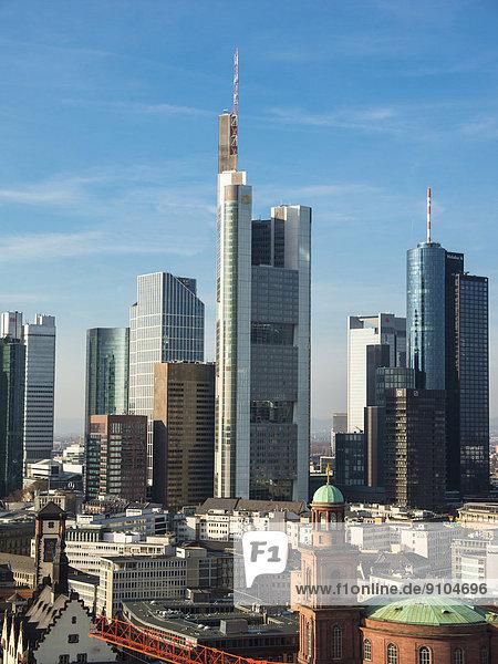 Frankfurt am Main Commerzbank Deutschland Hessen