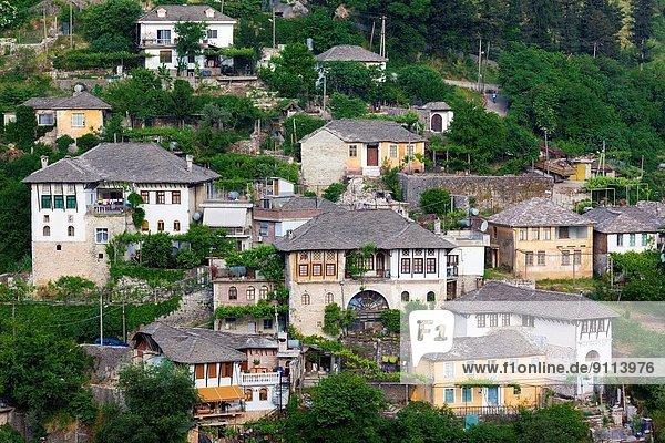 Morgendämmerung Albanien