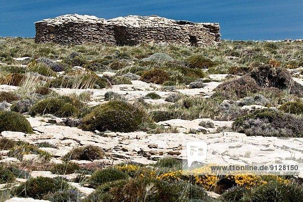 Hütte Europa Stein trocken Spanien