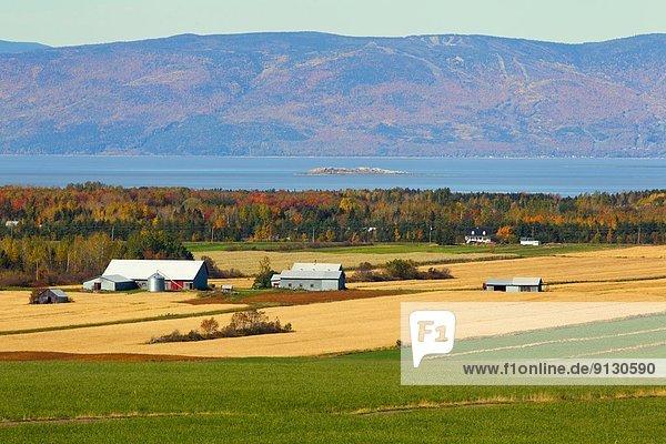Bauernhof Hof Höfe Kanada Quebec
