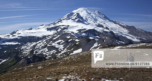 Vereinigte Staaten von Amerika  USA  wandern  Berg  Alaska Panhandle  Mount Rainier Nationalpark