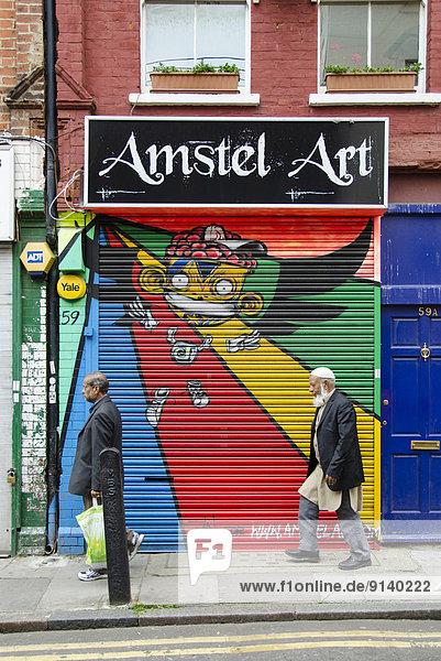 England  Street-Art  Straßenkunst