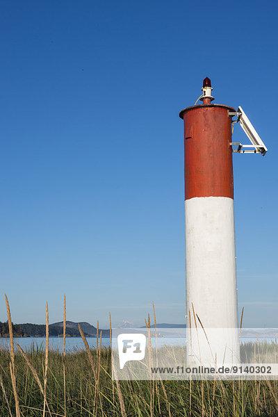Sidney Island  British Columbia  Kanada  Leuchtbake