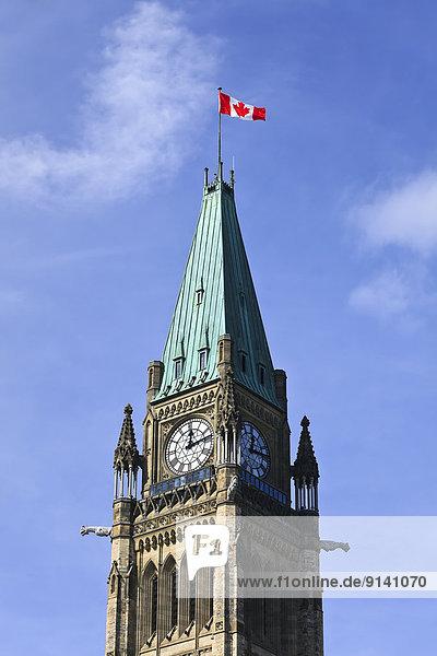 Ottawa  Hauptstadt  Kanada  Ontario  Peace Tower