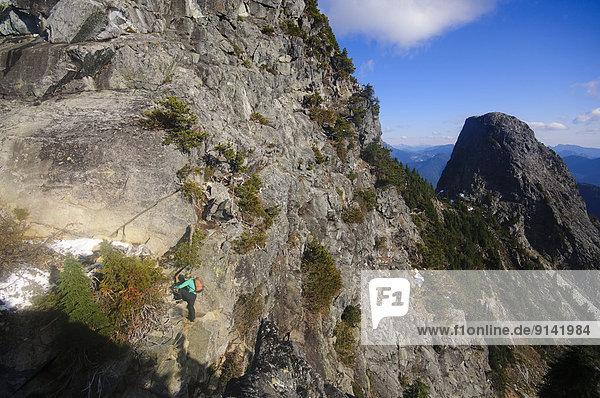 hoch  oben  wandern  British Columbia  Kanada