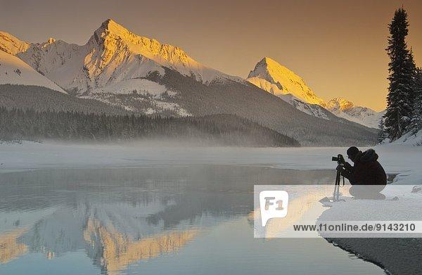 Jasper Nationalpark  Alberta  Kanada