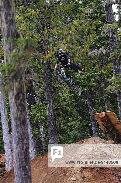 Berg Wettbewerb British Columbia Kanada Vancouver Island