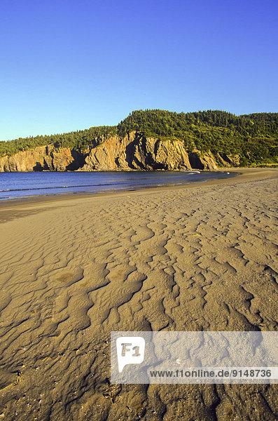 Salmon Cove Sands Scenic Attraction  Newfoundland  Canada
