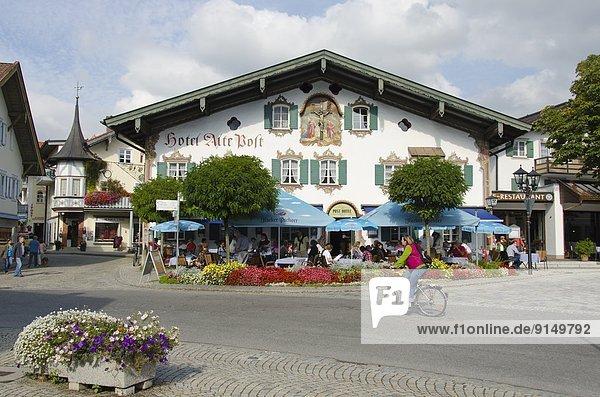 Leidenschaft Produktion Stadt Wahrzeichen Spiel Deutschland Oberammergau