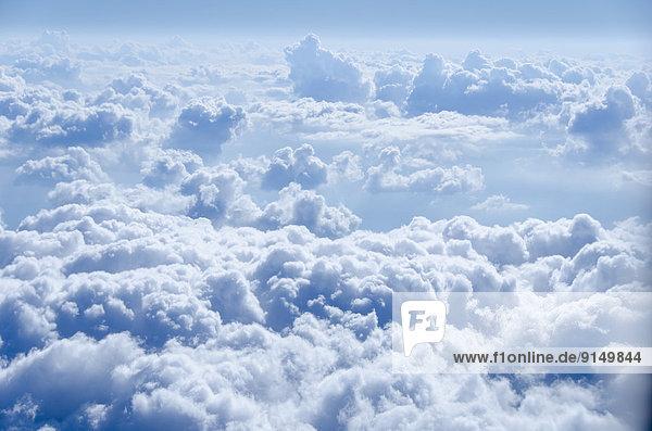 Vereinigte Staaten von Amerika  USA  Wolke  über  Luftfahrzeug