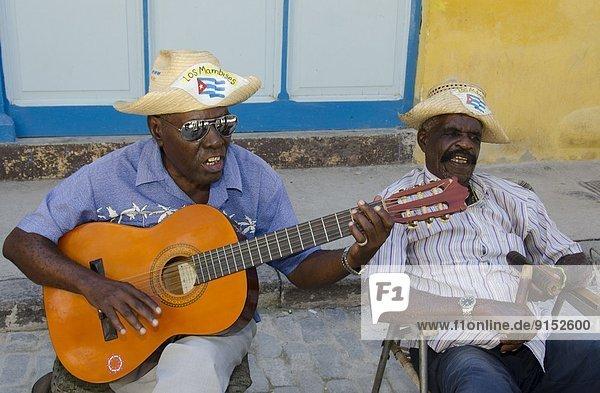 Havanna  Hauptstadt  Straßenkünstler  Kuba