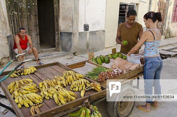 Havanna  Hauptstadt  Marktfrau  Kuba